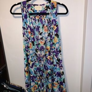 Yumi Kim Blue Floral Wrap Dress